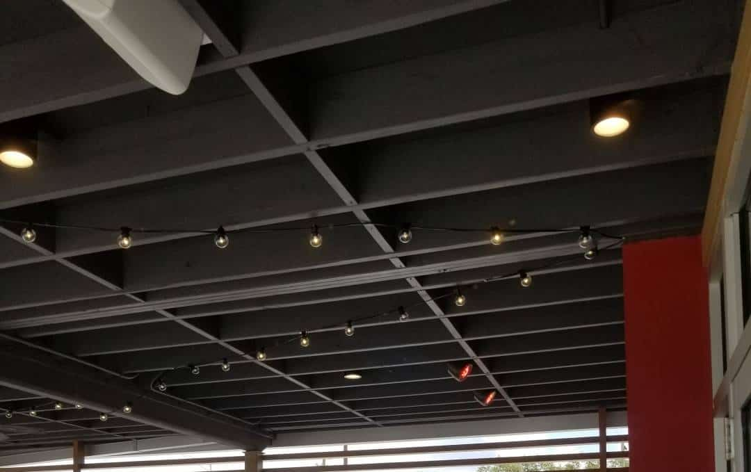 Electric Lighting Install for Business