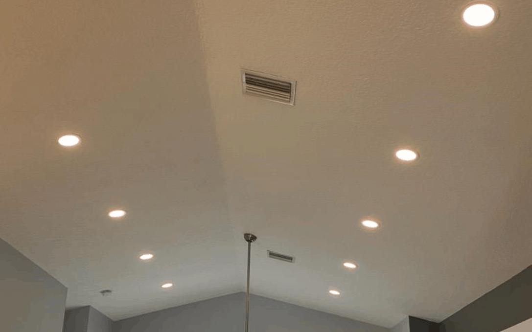 Recessed Lighting Install in Gibsonton florida